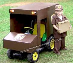 Halloween Costumes 3 Boy Coolest Homemade Ups Delivery Man Costume Delivery Man