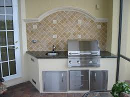 types of kitchen countertops incredible outdoor backsplash ideas