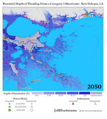 Map Of Areas To Avoid In New Orleans by Lights Out Storm Surge Blackouts And How Clean Energy Can Help