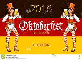 oktoberfest bavarian oktoberfest vector illustration