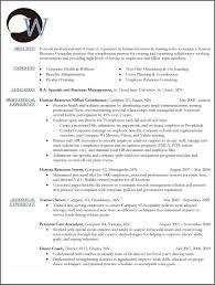 best resume layout hr generalist hr generalist resume objective sle exles statements