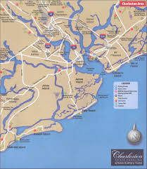 Sc Metro Map by Charleston Sc Area Map
