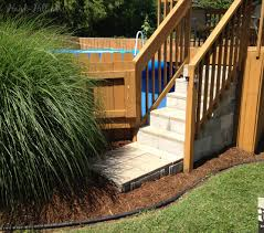 decking ideas for gardens landscaping cool above ground pool landscaping for backyard ideas