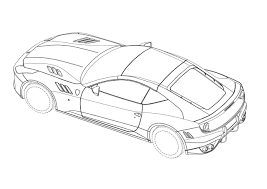 ferrari sketch next generation ferrari california revealed in a series of design