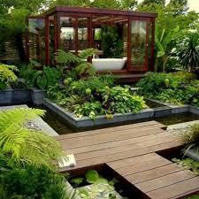 Small Terrace Garden Design Ideas Small Terrace Garden Design Ideas White Pebble And Downlight L
