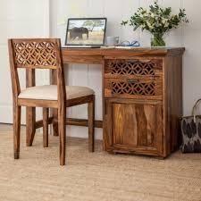 Sheesham Computer Desk Small Sheesham Wood Furniture Lustwithalaugh Design Indian