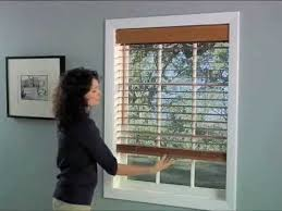 Graber Blinds Repair Graber Cordless Wood Blinds Youtube