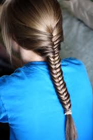 fishtail french braid with side waterfall hairstyle womenitems com