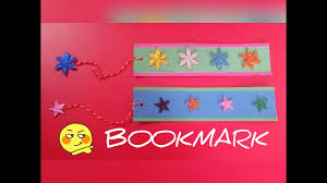 diy how to make bookmark very simple craft for kids youtube