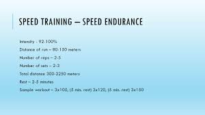 speed training by jeff bolender cedarville university ppt download