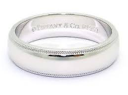 Platinum Comfort Fit Wedding Band Mens Platinum Wedding Band Ebay