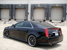 cadillac cts 2010 black 21 modulare m15 wheels in satin black shown on 2010 cadillac cts