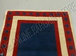 Red White Striped Rug Red White And Blue Area Rugs Rugs Decoration