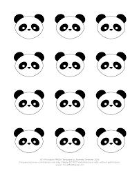 panda cake template royal icing panda cupcake topper with free printable template