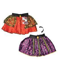 Halloween Costumes Logo Girls Reversible Pettiskirt Girls Costumes
