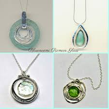 glass jewelry necklace images Israeli roman glass jewelry joyas de vidrio romano de israel jpg