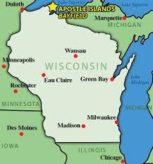Wisconsin Travel Directions images Apostle islands map directions apostle islands cruises jpg