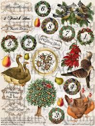twelve days of christmas ornaments christmas ideas