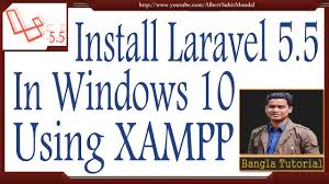 laravel tutorial for beginners bangla how to install laravel 5 5 in windows from scratch bangla tutorial
