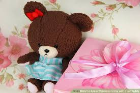 teddy valentines day how to spend s day with your teddy 5 steps