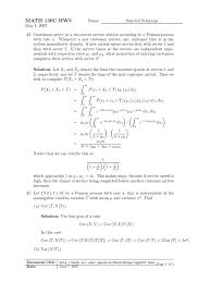 hw3 selected solutions applied mathematics statistics