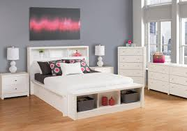 how to build simple white queen platform bed bedroom ideas and