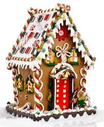 kurt adler 8 pre lit gingerbread house gingerbread