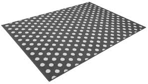 Tapis Salon Noir Et Blanc by