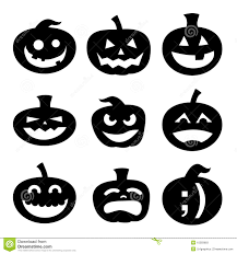 Halloween Silhouettes by Halloween Pumpkin Silhouettes Stock Photos Image 10283683