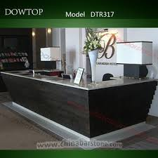 L Shaped Reception Desk Counter Factory Direct Sale L Shaped Reception Desk Black Front Counter