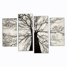 discount painting canvas black white tree 2017 tree painting