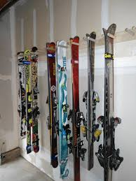 best ski racks for garage u2014 the better garages diy ski rack for