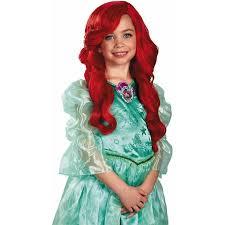 Ariel Mermaid Halloween Costume Mermaid Ariel Child Wig Halloween Accessory Walmart
