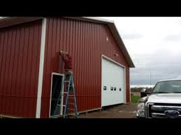 Cool Pole Barns Creating A Cool Barn Shop And Tack Room In Horse Barn Youtube
