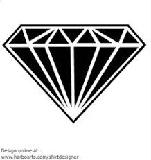diamond tattoo design on black background photo 3 photo