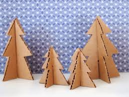 cardboard christmas tree make mini christmas trees from pipe cleaners and cardboard pink