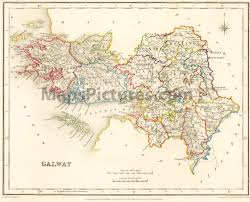 Map Ireland Maps And Pictures County Maps Of Ireland From 1837