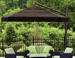 large umbrella patio furniture outdoorlivingdecor