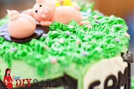 sam u0027s farm birthday cake u2013 lola u0027s diy party tips