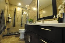 cheap bathroom remodel ideas for small bathrooms light brown bench