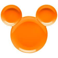 mickey halloween orange mickey mouse dishes for sale mickey halloween zak