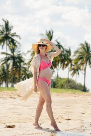 It U0027s A Cover Up by Beach Baby Bump Pink With Lace Cover Up