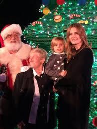 stana u0026 niece sofia at legoland ca christmas tree lighting