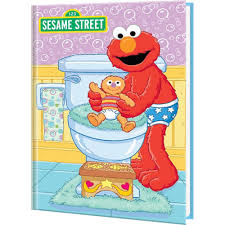s elmo bye bye diapers personalized baby book