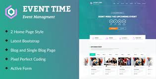 Html Event Template event time conference event html template by themeinnovation