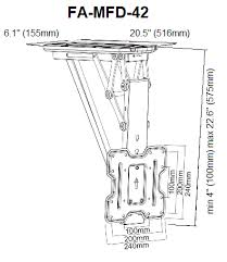 Motorized Ceiling Mount Tv by Motorized Flip Down Tv Ceiling Mount