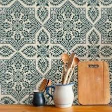 Portuguese Tiles Kitchen - traditional spanish tiles stickers tiles decals tiles for