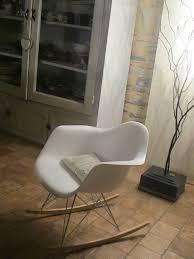 chaise à bascule eames fauteuil charles eames frais fauteuil bascule eames avec chaise rar