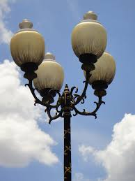 Old Lantern Light Fixtures by Free Images Outdoor Post Architecture Sky White Vintage