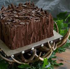 cake stand rental wedding grooms cake chocolate shard cake on deer antler cake stand